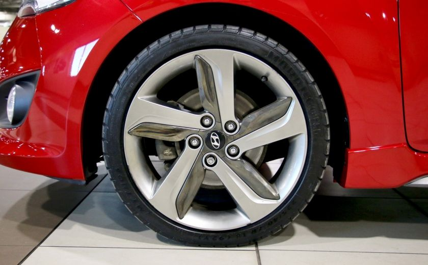 2014 Hyundai Veloster Turbo w/Matte Grey A/C MAGS BLUETHOOT CUIR TOIT #33