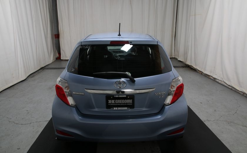 2014 Toyota Yaris LE #4