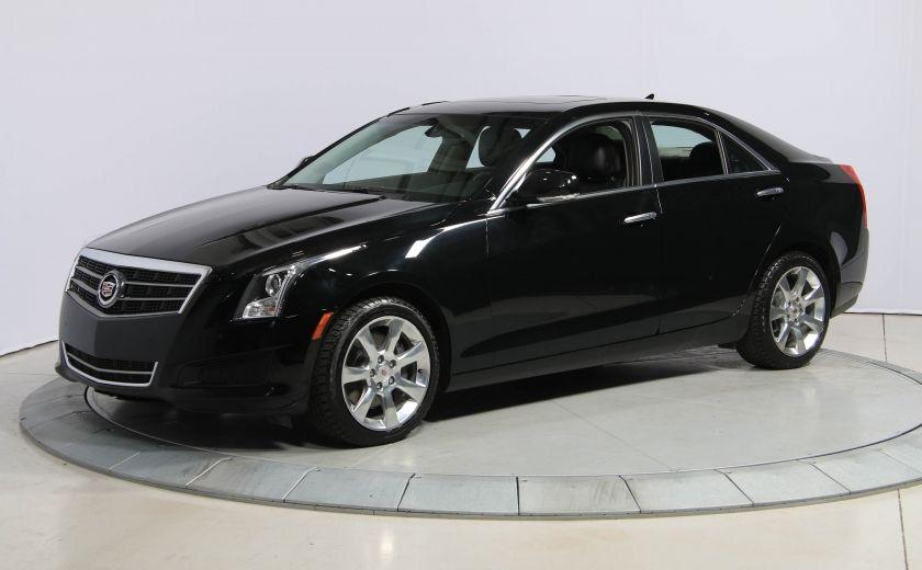 2013 Cadillac ATS LUXURY AWD CUIR TOIT CAMERA RECUL #2