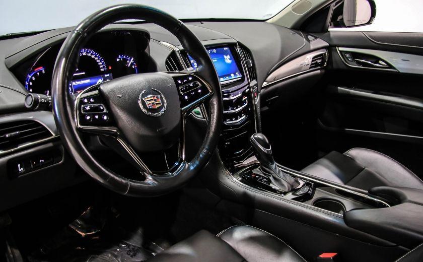 2013 Cadillac ATS LUXURY AWD CUIR TOIT CAMERA RECUL #8