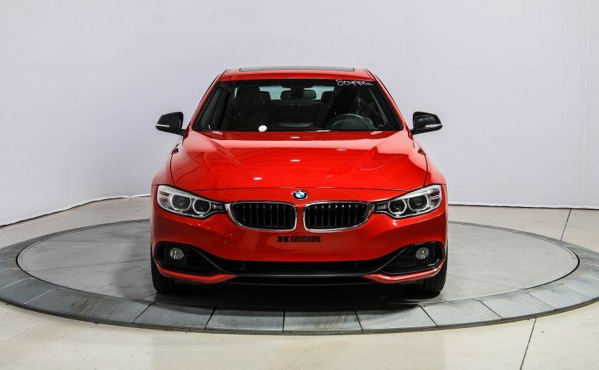 2014 BMW 428I AWD AUTO A/C CUIR TOIT NAV MAGS BLUETOOTH #1