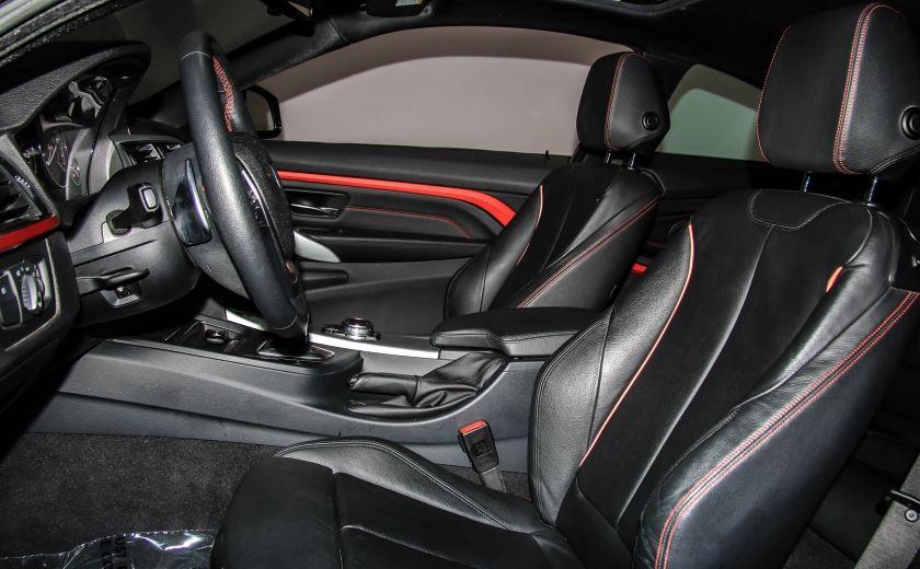 2014 BMW 428I AWD AUTO A/C CUIR TOIT NAV MAGS BLUETOOTH #9