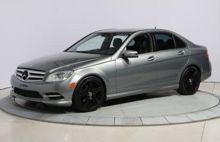 2011 Mercedes Benz C250 4MATIC AUTO A/C CUIR TOIT MAGS BLUETOOTH in Carignan