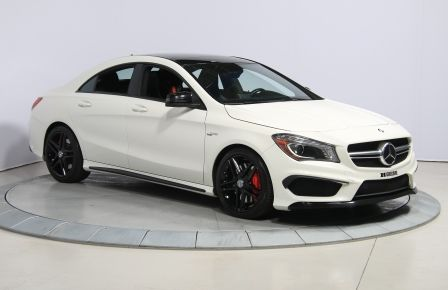 2014 Mercedes Benz AMG CLA45 AMG AUTOMATIQUE A/C MAGS BLUETHOOT CUIR TOIT à New Richmond