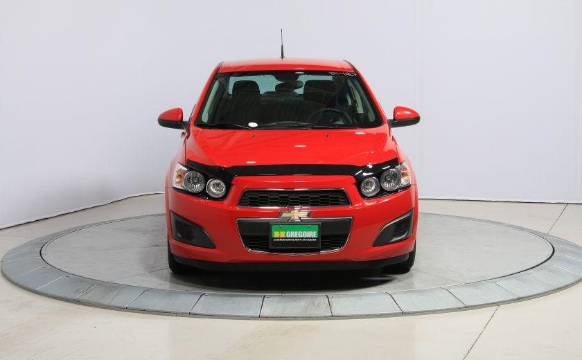 2012 Chevrolet Sonic LT AUTOMATIQUE A/C BLUETHOOT #1