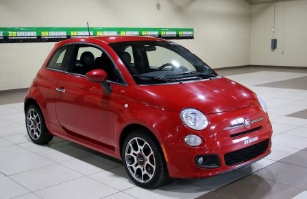 2015 Fiat 500 Sport AUTO A/C GR ELECT MAGS BLUETHOOT #0