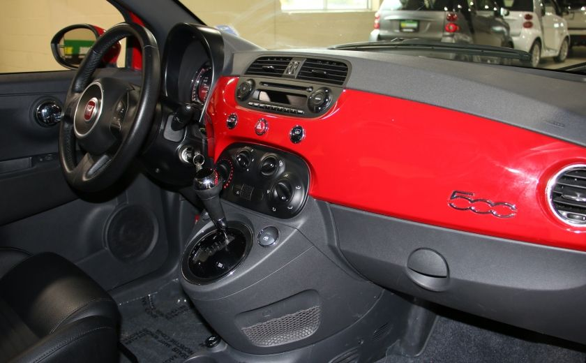 2015 Fiat 500 Sport AUTO A/C GR ELECT MAGS BLUETHOOT #17