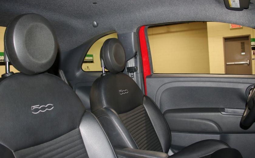 2015 Fiat 500 Sport AUTO A/C GR ELECT MAGS BLUETHOOT #19