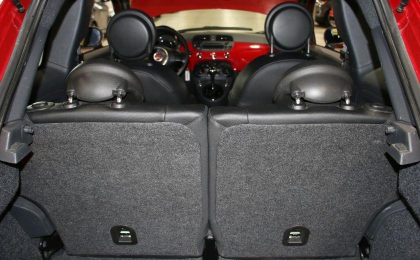 2015 Fiat 500 Sport AUTO A/C GR ELECT MAGS BLUETHOOT #23