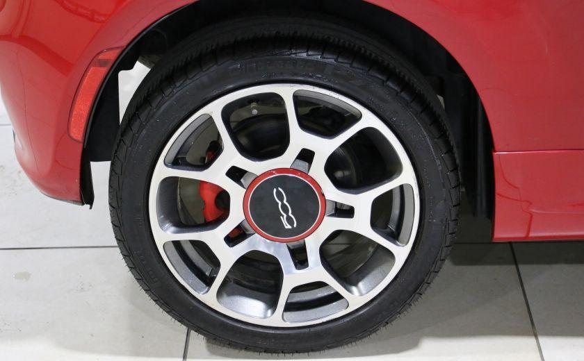 2015 Fiat 500 Sport AUTO A/C GR ELECT MAGS BLUETHOOT #25