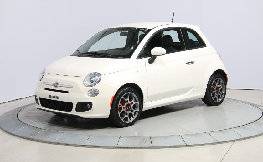 2015 Fiat 500 Sport AUTO A/C GR ELECT MAGS BLUETOOTH #2