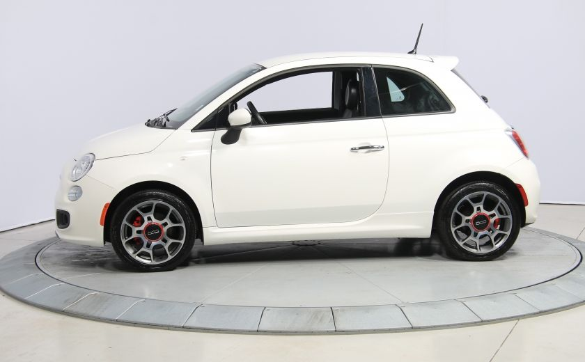 2015 Fiat 500 Sport AUTO A/C GR ELECT MAGS BLUETOOTH #3