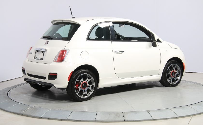 2015 Fiat 500 Sport AUTO A/C GR ELECT MAGS BLUETOOTH #6