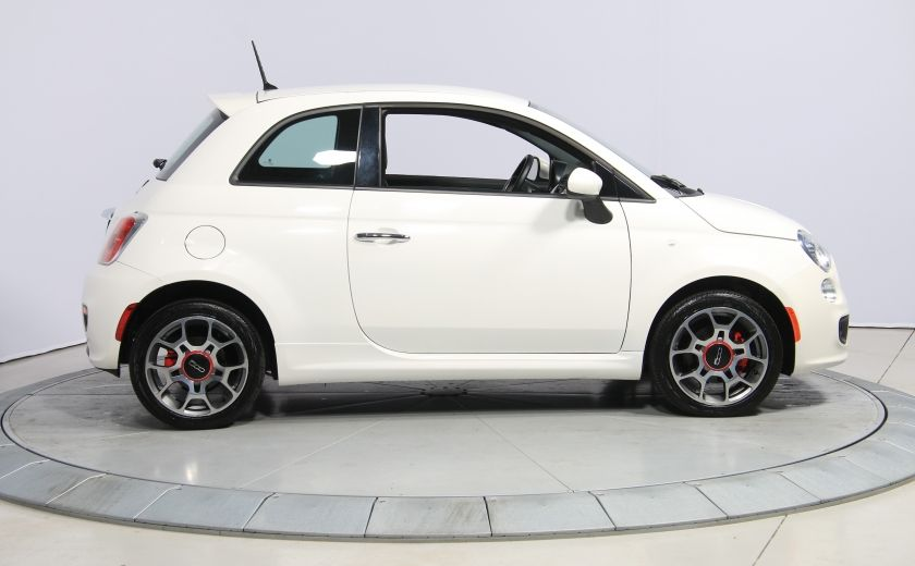 2015 Fiat 500 Sport AUTO A/C GR ELECT MAGS BLUETOOTH #7