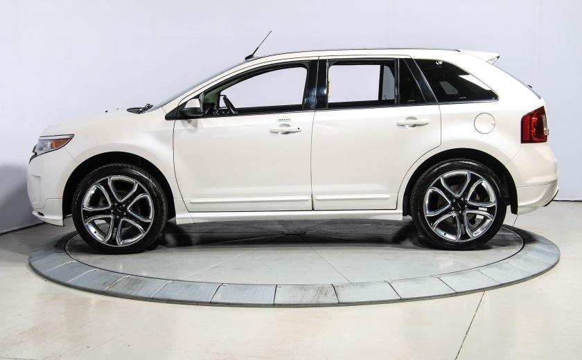 2014 Ford EDGE Sport AUTOMATIQUE A/C MAGS BLUETHOOT CUIR TOIT #3