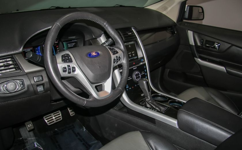 2014 Ford EDGE Sport AUTOMATIQUE A/C MAGS BLUETHOOT CUIR TOIT #8