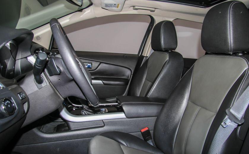 2014 Ford EDGE Sport AUTOMATIQUE A/C MAGS BLUETHOOT CUIR TOIT #9