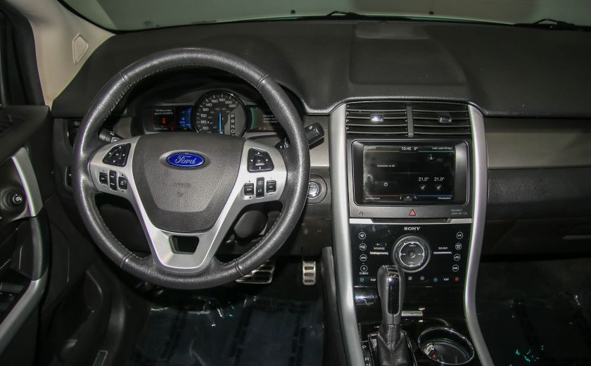 2014 Ford EDGE Sport AUTOMATIQUE A/C MAGS BLUETHOOT CUIR TOIT #14
