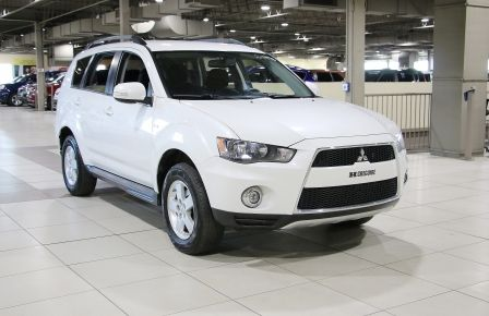 2012 Mitsubishi Outlander LS V6 AWD 7 PASSAGERS CAMERA RECUL in Estrie