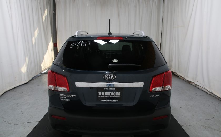 2012 Kia Sorento EX V6 AWD CUIR TOIT PANO CAMERA RECUL #4
