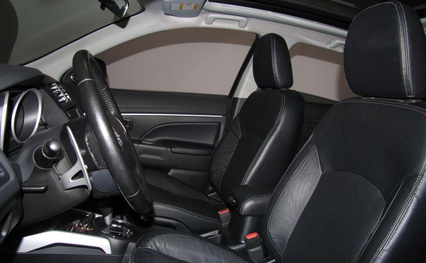 2012 Mitsubishi RVR GT AWD CUIR TOIT PANO NAVIGATION CAMERA RECUL #8