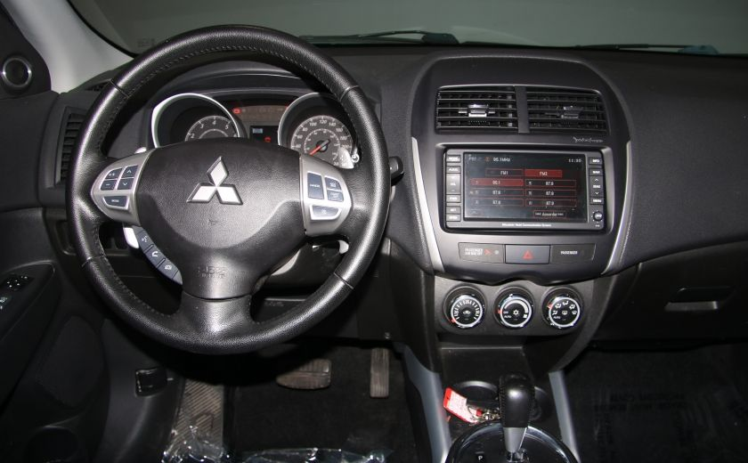 2012 Mitsubishi RVR GT AWD CUIR TOIT PANO NAVIGATION CAMERA RECUL #13