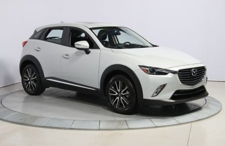 2016 Mazda CX 3 GT AWD CUIR TOIT NAV CAMERA RECUL in Longueuil