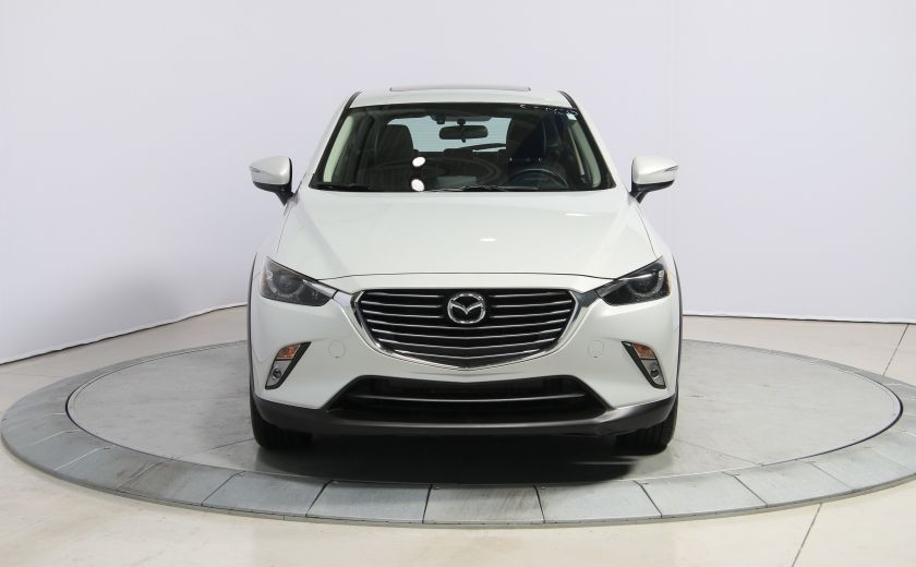 2016 Mazda CX 3 GT AWD CUIR TOIT NAV CAMERA RECUL #1