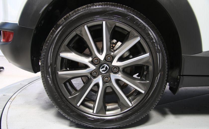 2016 Mazda CX 3 GT AWD CUIR TOIT NAV CAMERA RECUL #34