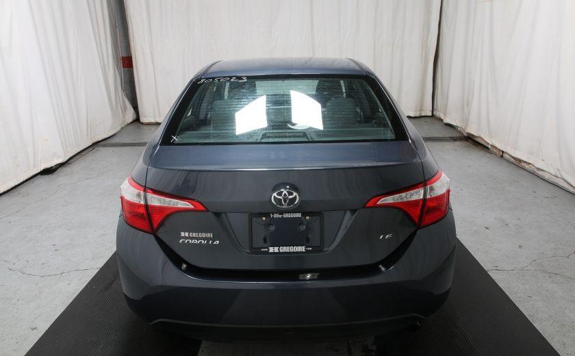 2015 Toyota Corolla LE #5