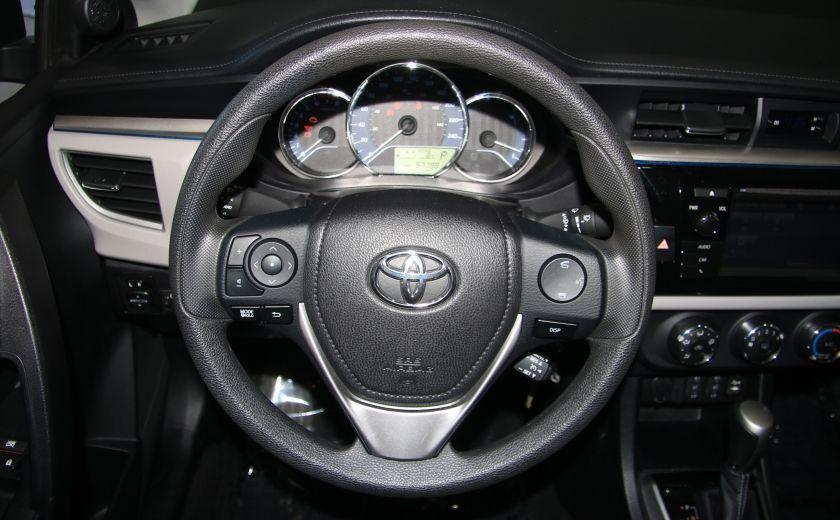 2015 Toyota Corolla LE AUTO A/C GR ELECT CAM.RECUL BLUETOOTH #13