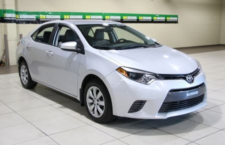 2015 Toyota Corolla LE AUTO A/C BLUETOOTH CAMERA RECUL in Sept-Îles