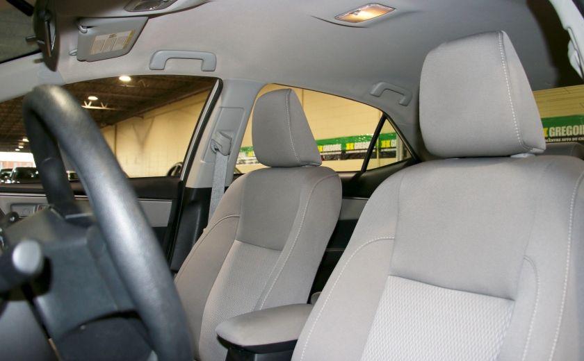 2015 Toyota Corolla LE AUTO A/C BLUETOOTH CAMERA RECUL #9