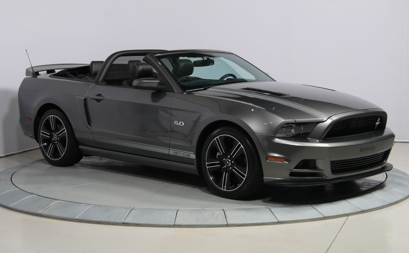 2014 Ford Mustang CONVERTIBLE GT CALIFORNIA SPECIAL #0