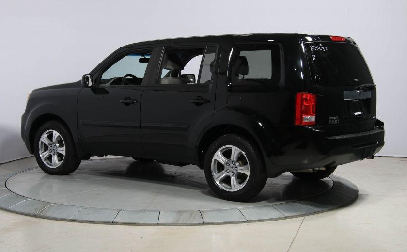 2012 Honda Pilot LX 4WD AUTO A/C GR ELECT MAGS BLUETOOTH 8PASSAGERS #4
