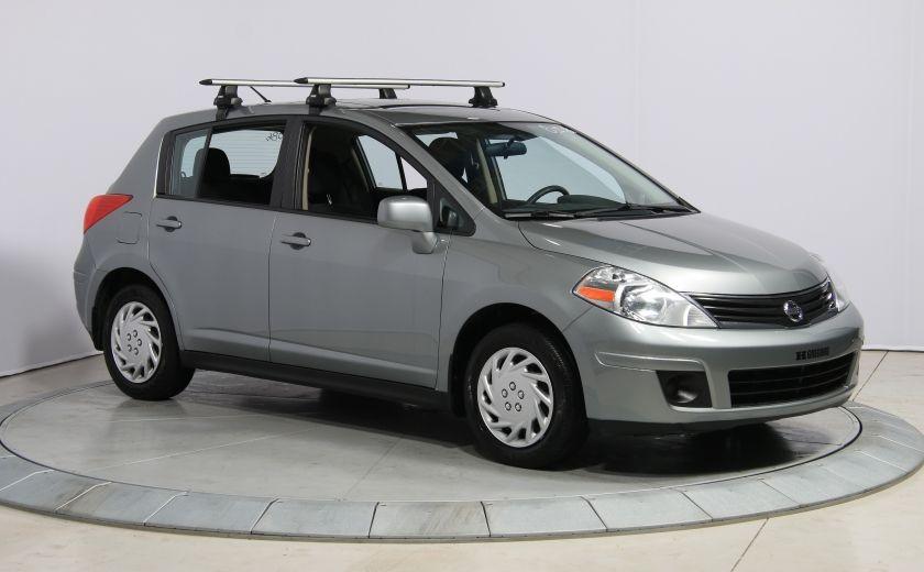 2012 Nissan Versa 1.8 SL A/C GR ELECT TOIT #0