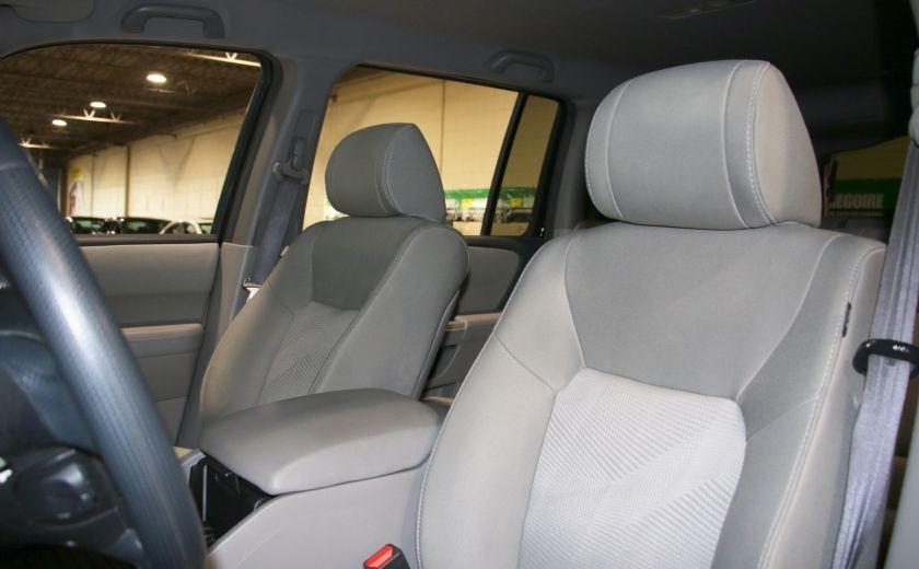 2012 Honda Pilot LX 4WD AUTO A/C MAGS BLUETOOTH 8 PASS #9