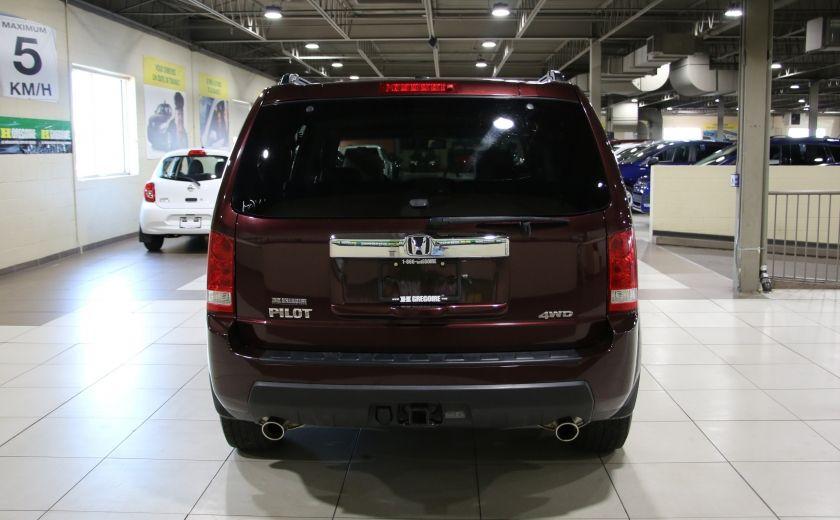 2011 Honda Pilot EX-L  AWD AUTO A/C CUIR TOIT MAGS 8 PASS #4