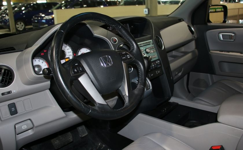 2011 Honda Pilot EX-L  AWD AUTO A/C CUIR TOIT MAGS 8 PASS #7