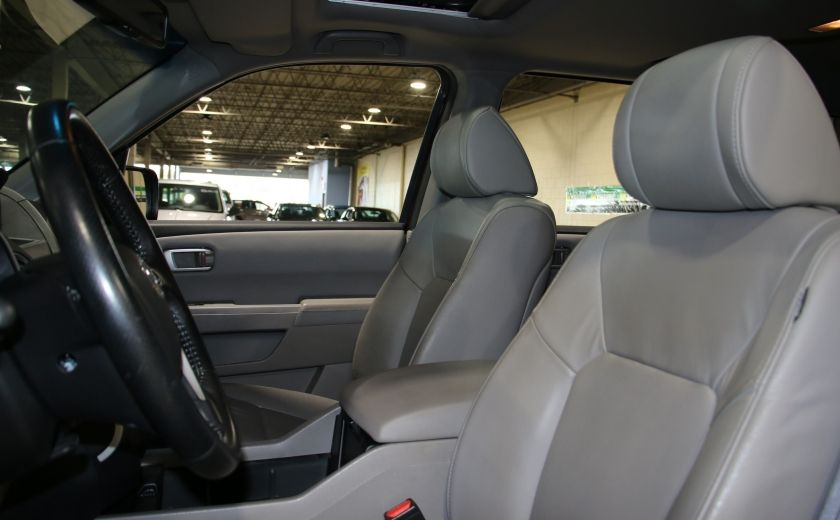 2011 Honda Pilot EX-L  AWD AUTO A/C CUIR TOIT MAGS 8 PASS #8