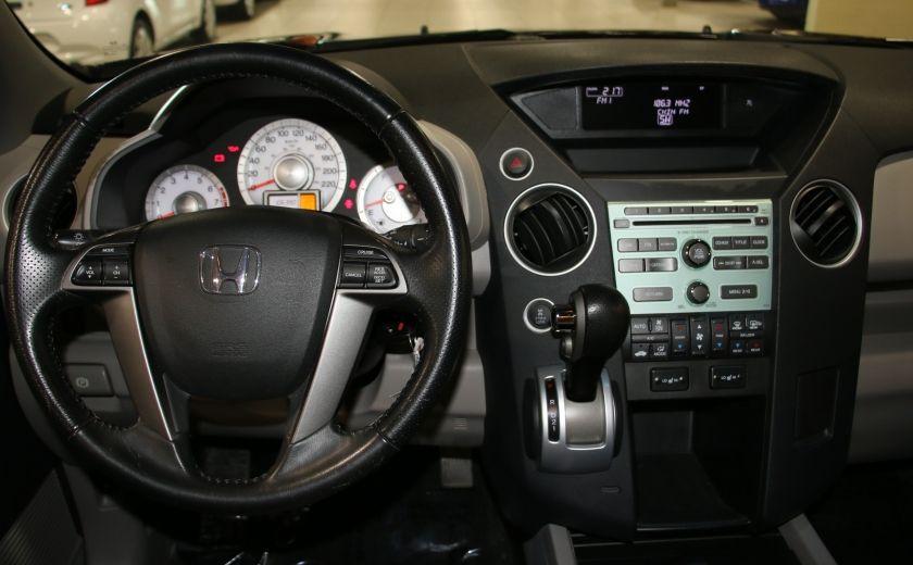 2011 Honda Pilot EX-L  AWD AUTO A/C CUIR TOIT MAGS 8 PASS #12