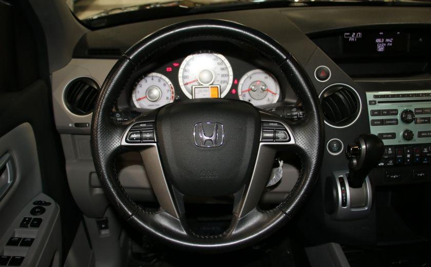 2011 Honda Pilot EX-L  AWD AUTO A/C CUIR TOIT MAGS 8 PASS #13