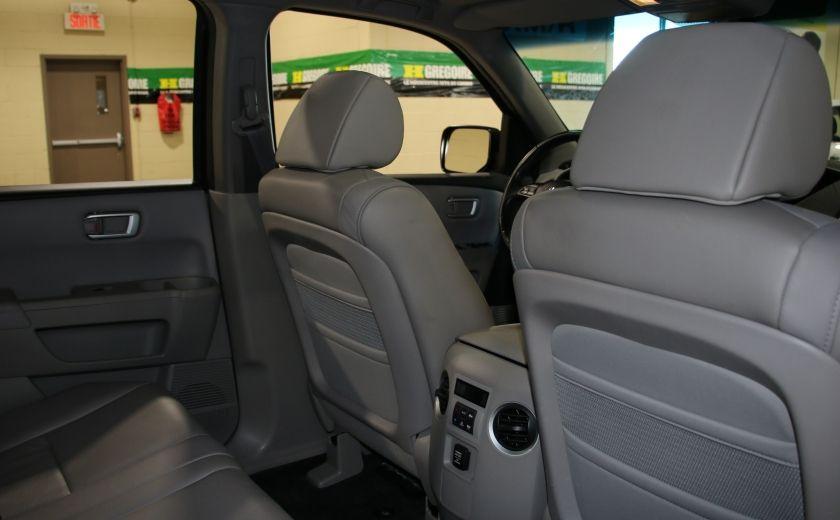2011 Honda Pilot EX-L  AWD AUTO A/C CUIR TOIT MAGS 8 PASS #23