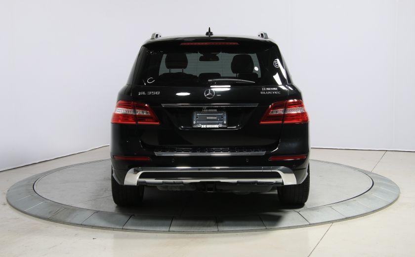 2013 Mercedes Benz ML350 ML350 BlueTEC AWD AUTO A/C CUIR TOIT MAGS #5