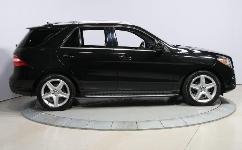 2013 Mercedes Benz ML350 ML350 BlueTEC AWD AUTO A/C CUIR TOIT MAGS #7