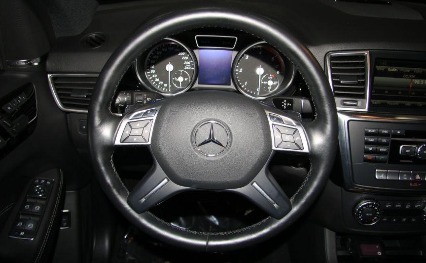 2013 Mercedes Benz ML350 ML350 BlueTEC AWD AUTO A/C CUIR TOIT MAGS #15
