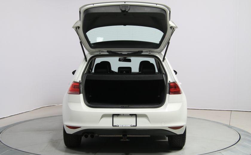 2015 Volkswagen Golf Comfortline AUTO A/C CUIR MAGS BLUETOOTH CAM.RECUL #24