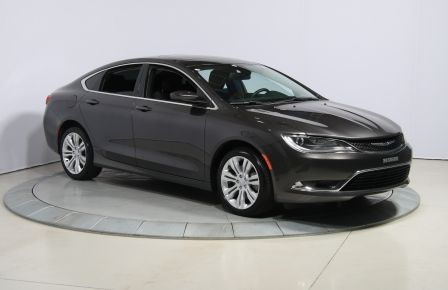 2015 Chrysler 200 Limited AUTOMATIQUE A/C MAGS BLUETHOOT TOIT in Rimouski
