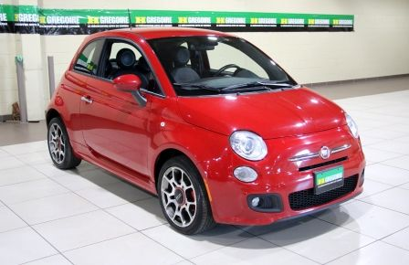 2015 Fiat 500 Sport AUTO A/C MAGS BLUETOOTH in Saint-Hyacinthe