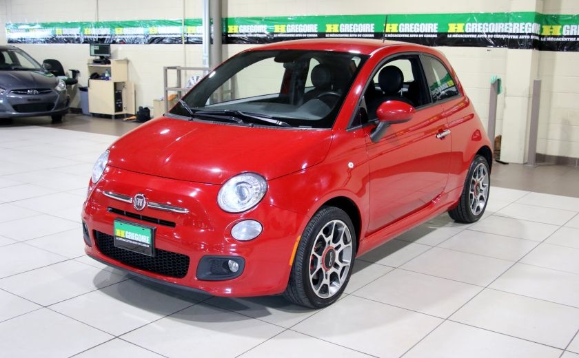 2015 Fiat 500 Sport AUTO A/C MAGS BLUETOOTH #2